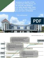 Mufassir Nusantara on Quality of Life