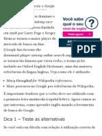 Aprenda Inglês Utilizando o Google _ Dicas de Inglês