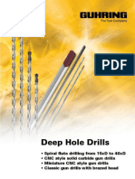 GUHRING Deep Hole Drills
