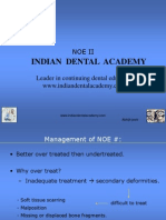 Noe Part 2 Abhijit Joshi (NXPowerLite) / orthodontic courses by Indian dental academy