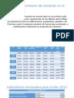 Analisis de Consumo de Cemento en La Ciudad