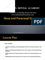 Nose and Paranasal Sinuses According to New Reference 1 / orthodontic courses by Indian dental academy