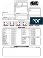 Character Sheet - Editable - Dice Roll Updating