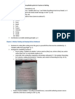 4 reading notes for 10 things   study group book