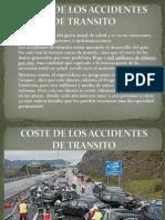 Coste de Los Accidentes de Transito
