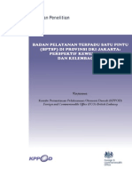 FCO Indo Laporan Penelitian PTSP