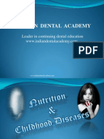 Nutrition Part1 / orthodontic courses by Indian dental academy