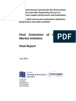 Final Evaluation of the Lead 