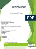 HIDROCARBUROS EXAMEN