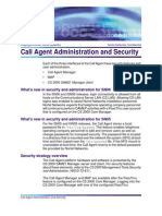 Call Agent Administration and Security - NN10175-611.03.04