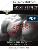 The Adonis Effect - Build a Body that Women Can't keep their Hands off