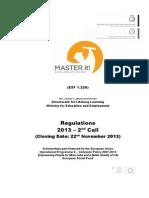 Regulations Master It 2014