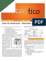 2013 AGO - Clase de Aislamiento - Materiales