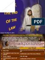 2nd Quarter 2014 Lesson 7 Christ, The End of The Law Powerpoint Presentation.pptx