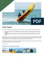 Water Sports - Laguna Lang Co