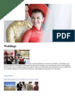 Weddings - Laguna Lang Co