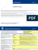 HSE policy template