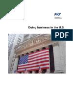 Pkf Doing Business in Us