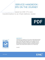 ITaaS - EMC2 IT-as-a-Service Handbook