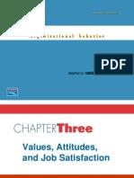 Ch03 - Value Attitude & Job Satisfaction