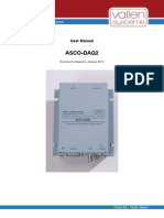 Asco-daq2 Uman 1201