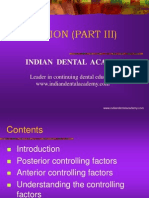 Occlusion Part(III) / orthodontic courses by Indian dental academy