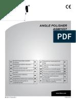 FERM AGM1037 Polisher Manual