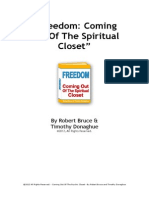 Robert Bruce How to Come Out of the Spiritual Closet
