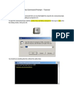 Dos Command Prompt Tutorial