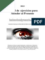 2013 Manual de Atencion Al Presente