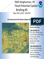 Weather Service Briefing Rain Storm 05 15 14