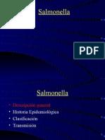 Salmonella, salmonelosis y datos epidemiologicos