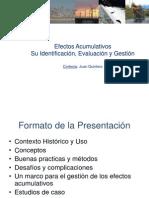 Efectos Acumulativos Peru
