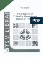 Foundation IT Service Management Based on ITIL v3