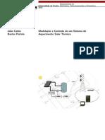 Modelação e Controlo de um Sistema de Aquecimento Solar Térmico