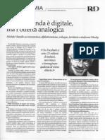 Se la domanda è digitale e l'offerta analogica....