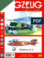 (Flugzeug Profile No.38) Albatros D-II
