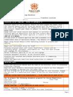 Franchise Setup Checklist