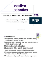 Preventive Orthodontics / orthodontic courses by Indian dental academy