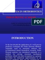 Role of Fem in Orthodontics / orthodontic courses by Indian dental academy