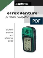ETrex Venture Manual