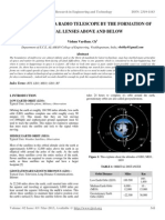 Solar System as a Radio Telescope by the Formation of Virtual Lenses Above and Below