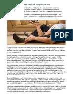 Relazione – Il Segreto è Capire Il Proprio Partner