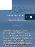 Terminologies and Basic Concepts of Growth and Development / orthodontic courses by Indian dental academy