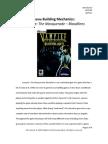 Building Game Mechanics - Vampire The Masquerade