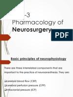 UNIT-5 Pharmacology of Neurosurgery