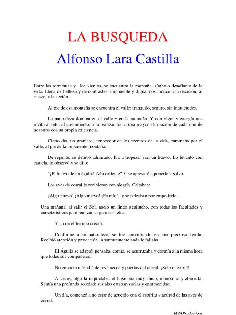 libro de la busqueda de alfonso lara castilla pdf
