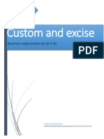Customs and Excise by M.H Ali