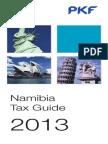 Namibia Pkf Tax Guide 2013