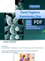 Hand Hygiene Awareness Day 5th May 2014